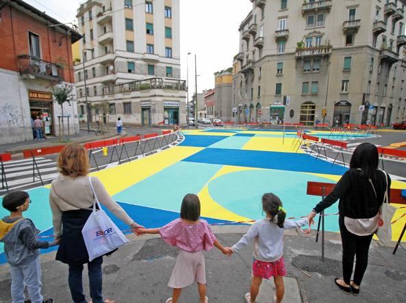 inaugurazione piazza